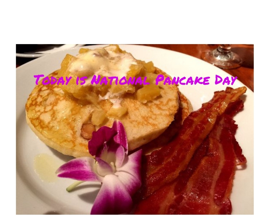 Today is National Pancake Day!